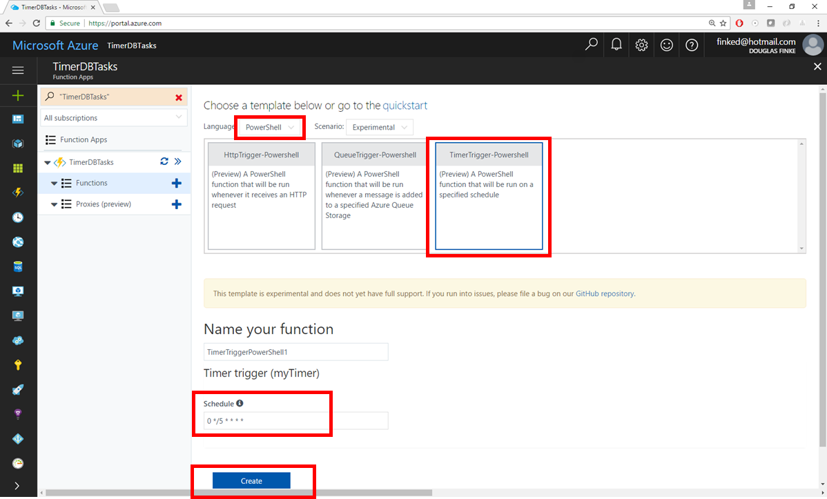 Use Powershell In Azure Functions To Perform A Scheduled Clean Up